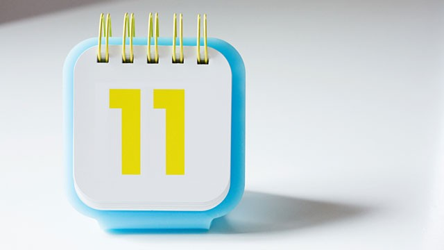 PHOTO: 11/11/11 is considered by some to be a lucky day.