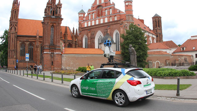 PHOTO: Google has agreed to pay a $7 million after a multi-state investigation found its street view feature violated priv
