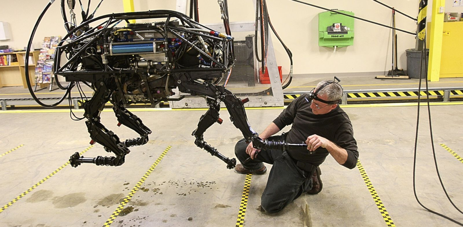 Good Morning America Robot : Google buys boston dynamics acquires several new robots