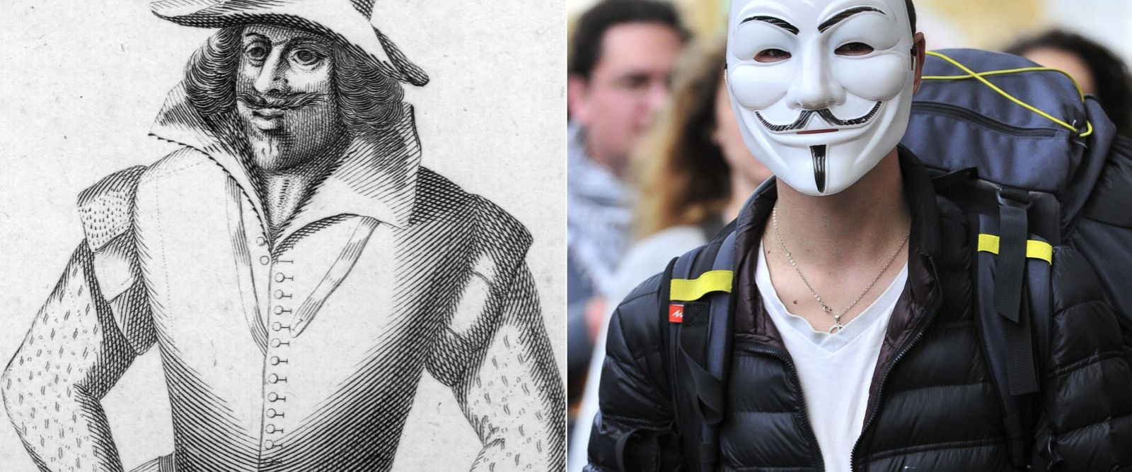"""a biography of fawkes guy the english conspirator Guy fawkes biography revolutionary guy fawkes is the most famous among the conspirators who took part in 1605's """"gunpowder plot,"""" a failed attempt to blow up king james i of england and the houses of parliament."""