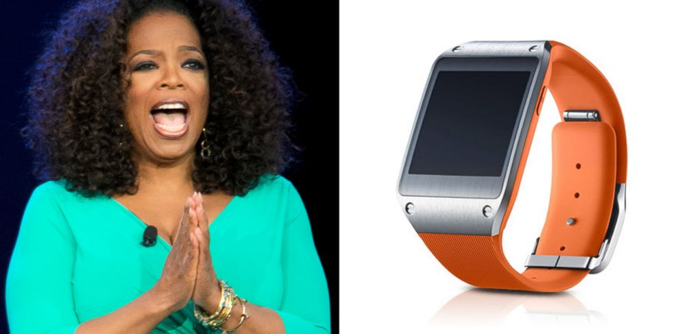 PHOTO: Samsungs Galaxy Gear has been selected as one of Oprahs 2013 Favorite Things.