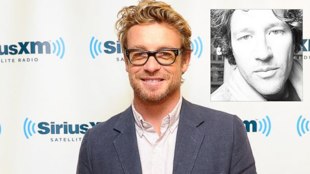 PHOTO: Actor Simon Baker visits at SiriusXM Studios on November 4, 2013 in New York City. He is portraying Noah Glass, inset, in the upcoming Twitter film.