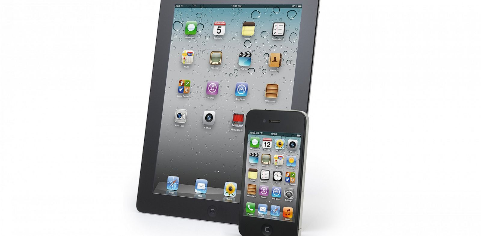 PHOTO: Future iPad and iPhones might have larger screens.