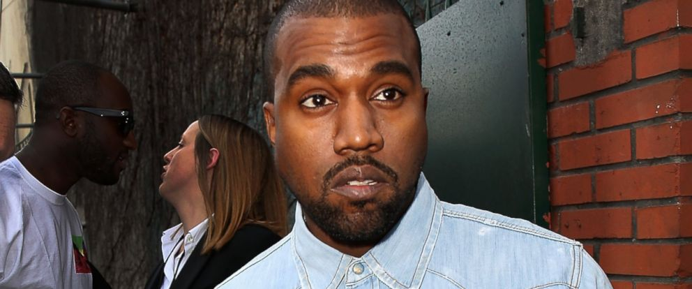 Kanye West attends Paris Fashion Week on March 2, 2014 in Paris, France.