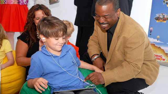 "PHOTO: LeVar Burton attends the Reading Rainbow ""Reading Rainbow Relaunch"" event in New York, June 19, 2012."