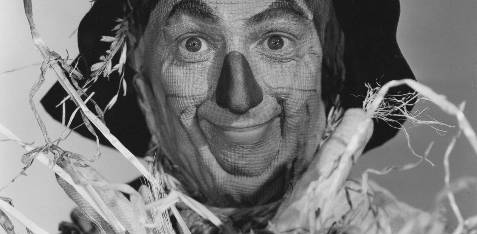 PHOTO: American actor Ray Bolger as The Scarecrow in the MGM film The Wizard of Oz, 1939.