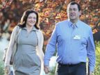 PHOTO: Sheryl Sandberg and her husband David Goldberg attend the Allen & Company Sun Valley Conference on July 9, 2014 in Sun Valley, Idaho.
