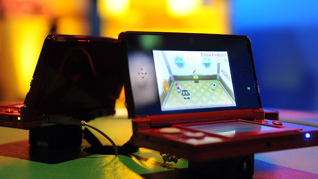 PHOTO: A general view of atmosphere at Nintendos celebration of the launch of Super Mario 3D Land at Siren Studios, Nov. 3, 2011 in Hollywood, California.