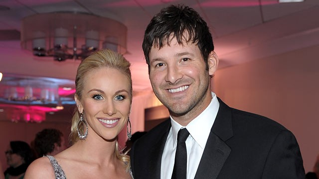 PHOTO: Candice Crawford and NFL player Tony Romo of the Dallas Cowboys attend the TIME White House Correspondents dinner cocktail party at the Washington Hilton.