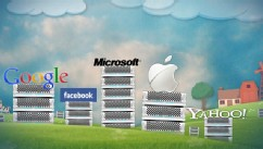 PHOTO: An image to depict the Cloud companies, including Google and Facebook, and their server farms.