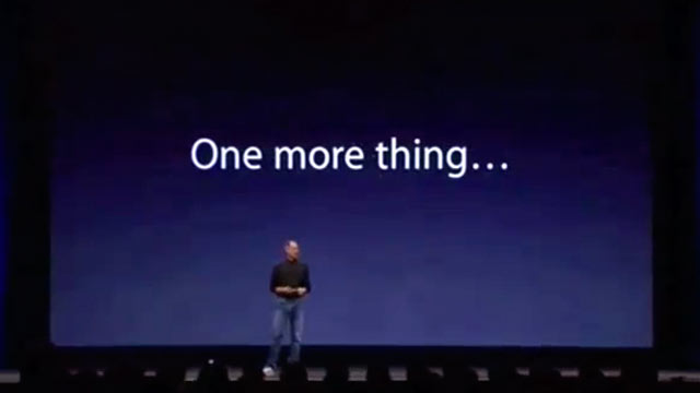 PHOTO: One more thing...