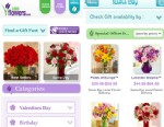 PHOTO: You can order flowers on the go with the 1800Flowers app.