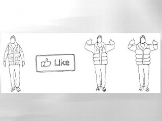 A Hug for Every Facebook 'Like'?