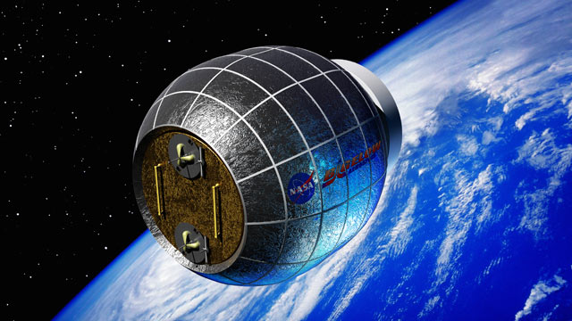 PHOTO: The Bigelow Expandable Activity Module, or BEAM, is seen here in this artist rendering; the module was developed by Bigelow Aerospace in partnership with NASA and can be used as an orbiting laboratory for the International Space Station.