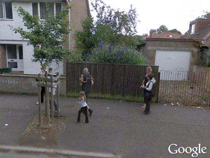 Naked google earth People on caught