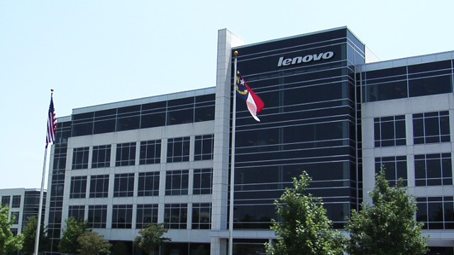 PHOTO: Lenovo's U.S. headquarters in North Carolina.