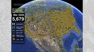 Google Earth Honors Iraq War Dead