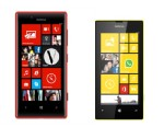 PHOTO: Nokia Lumia 520 and 720.