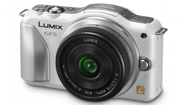PHOTO: Panasonic's Lumix GF5 is its latest micro-four thirds camera.