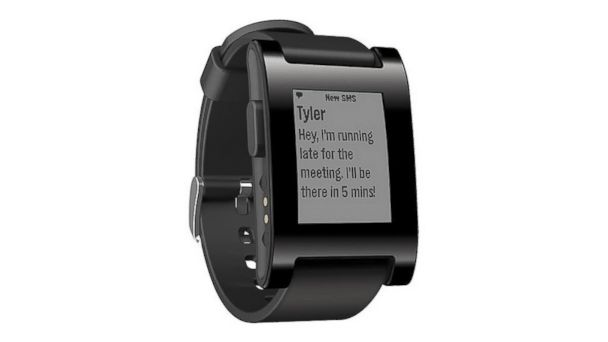 PHOTO: The Pebble Smartwatch.