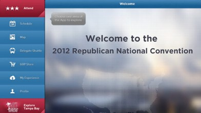PHOTO: The official RNC app, called Tampa 2012, is available for iOS and Android.