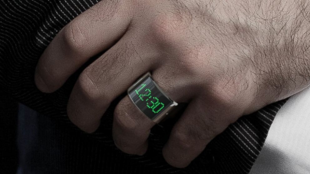 PHOTO: Wearable electronics will become even smaller when Smarty Ring hits the market in April.