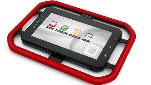 PHOTO: The Vinci tablet computer, one of several designed for children.