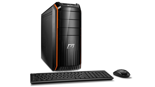 PHOTO: Acer's Predator desktop computer has the latest Intel processors.