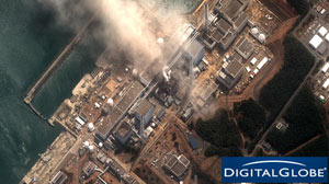 PHOTO An aerial view of the Fukushima Daiichi Nuclear Power Plant is shown, March 14, 2011.
