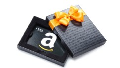 PHOTO: An Amazon.com gift card.