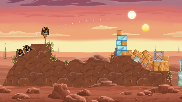 PHOTO: Angry Birds Star Wars