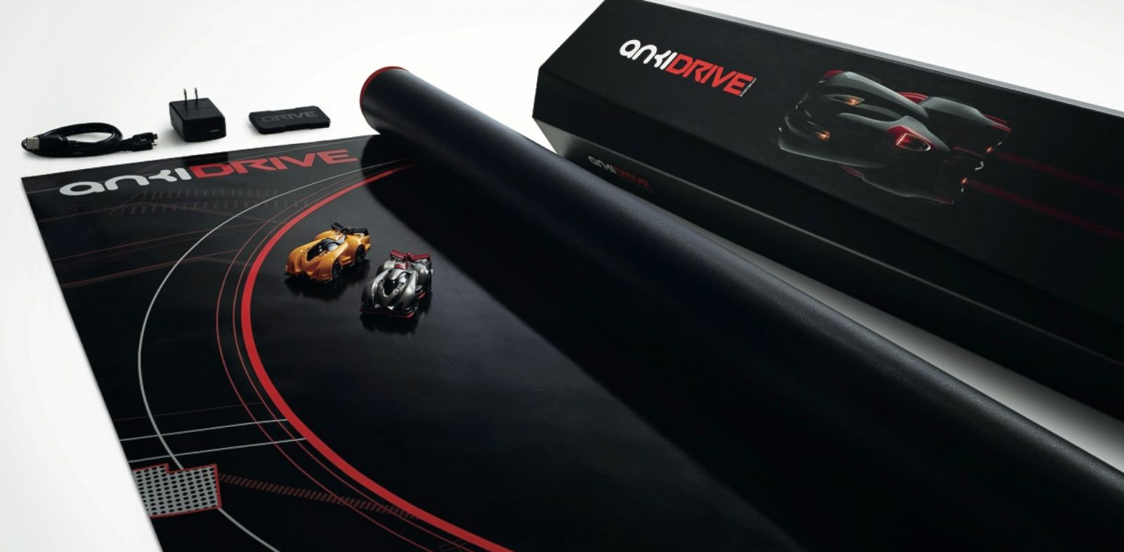 PHOTO: Drive, the debut product from Anki, brings advanced artificial intelligence to the household in the form of toy cars.