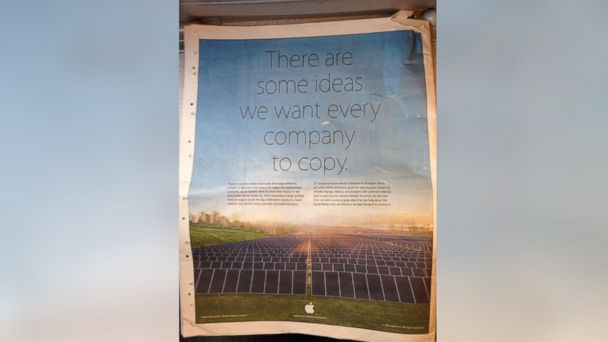 ht apple ad FLOAT kb 140421 16x9 608 Apple Mocks Samsung in Earth Day Ad