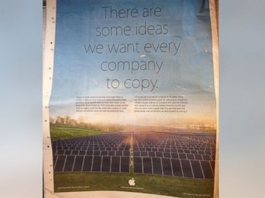 Apple Mocks Rival in Earth Day Ad