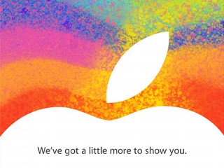iPad Mini? Apple Event Set for Oct. 23