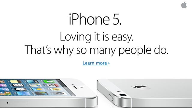 PHOTO: Apple sent customers an iPhone 5 email a few days after the Galaxy S 4 launch.