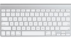 PHOTO: Apple wireless keyboard