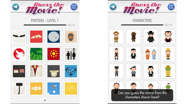 PHOTO: Guess the Movie! is an app for the iPhone, Android and Windows Phone.