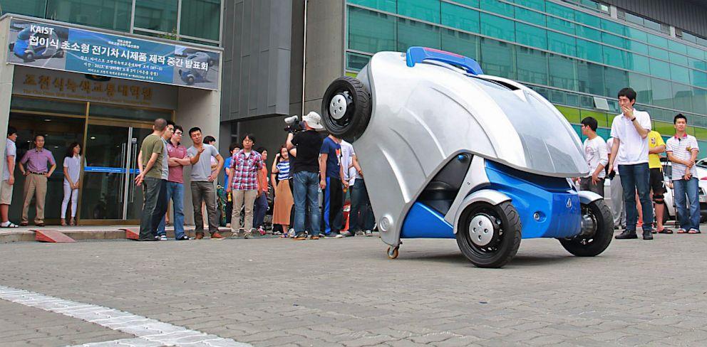 PHOTO: Armadillo-T folding car