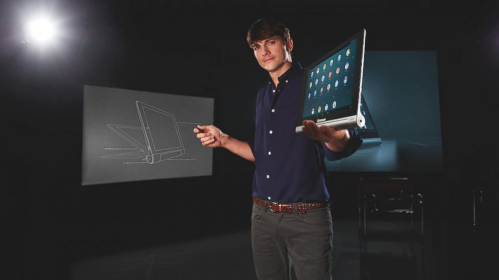 PHOTO: Ashton Kutcher has been named a Lenovo Product Engineer.