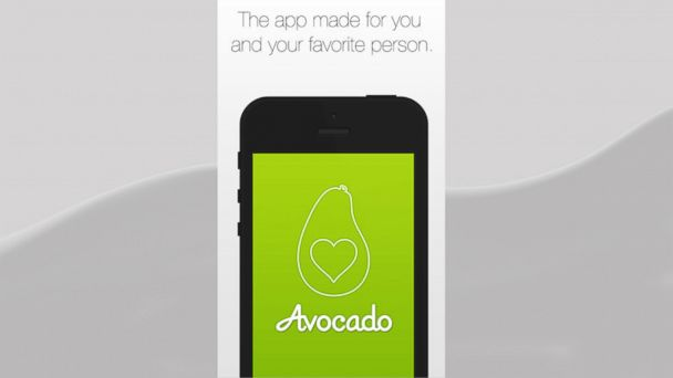 PHOTO: Avocado Software named their couple centric app after the avocado fruit, which always grows in pairs.
