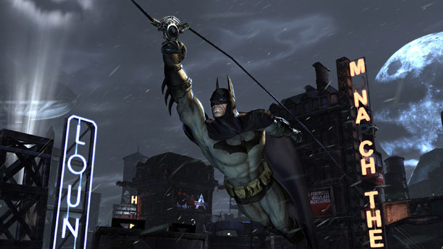 "PHOTO: ""Arkham City,"" developed by Rocksteady, picks up almost immediately where 2009s ""Batman: Arkham Asylum"" left off."