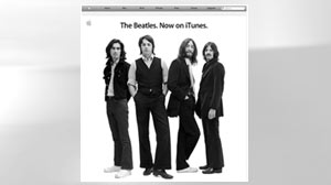 PHOTO Beatles Music, Finally, Comes to Apples iTunes