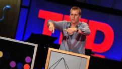 PHOTO: Beau Lotto speaks at TEDGlobal 2009.
