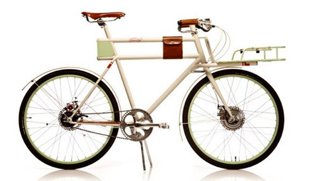 PHOTO: The Faraday Porteur Concept e-bike is seen here in this undated handout photo.