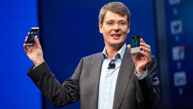 BlackBerry Takes Aim at Samsung and Apple