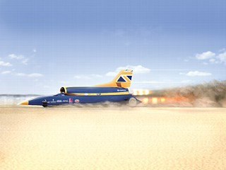 Supersonic Car to Break 1,000 MPH