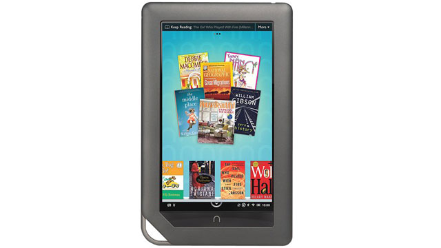 PHOTO: The Barnes & Noble NOOK Color eBook Tablet is shown.