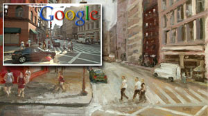 Photo: Kentucky man paints the world via Google Street View