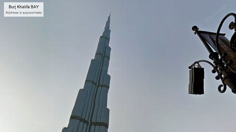 ht burj khalifa jef 130624 wblog Google Takes You to the Burj Khalifa, Worlds Tallest Building